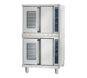 Convection Oven with Electronic Control, Stacked, Electric
