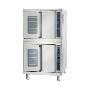 Convection Oven with Manual Control, Stacked, Electric
