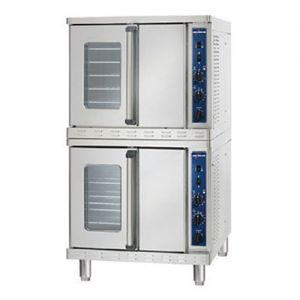 Convection Oven with Electronic Control, Stacked, Gas