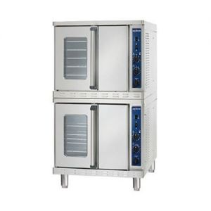 Convection Oven with Manual Control, Stacked, Gas