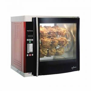 Rotisserie Oven, Single Pane, Electric