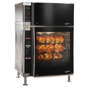 Rotisserie Oven, Single Pane, Ventless, Electric