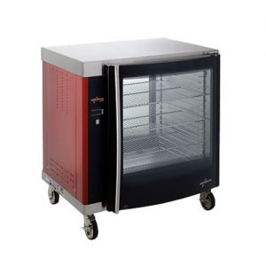 Rotisserie Holding Cabinet, Double Pane, 8 Full Pans, Electric
