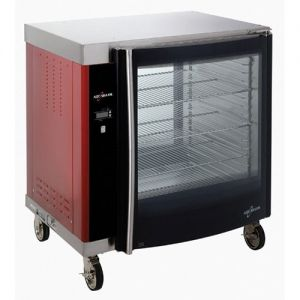 Rotisserie Holding Cabinet, Single Pane, 8 Full Pans, Electric