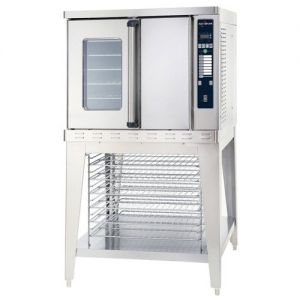 Full Size Convection Oven with Electronic Control, Single Deck, Electric