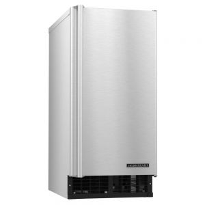 55 Lb ADA Compliant Undercounter Top Hat Ice Maker w/ 22 Lb Storage