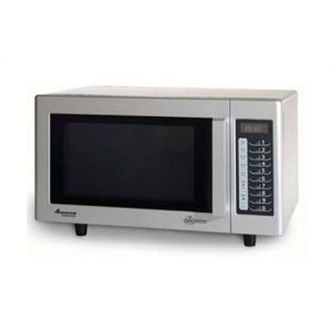 RMS Series 1000 Watt Touch Control Commercial Microwave Oven With Stainless Steel Exterior and Inter