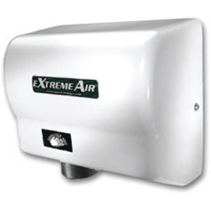 Automatic Hand Dryer, White, 100-240 Volt