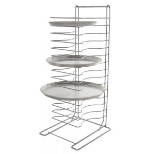 Pizza Rack 15 Shelf Chrome