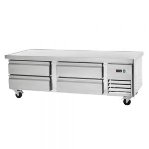 Refrigerated Chef Base with 4 Drawers