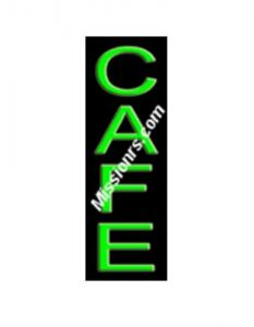 Neon Sign, Cafe Sign, Green