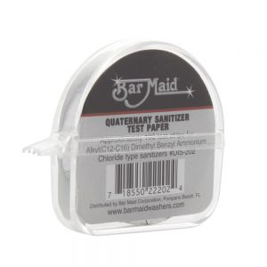 Bar Maid DIS-202 Sanitizer Test Strips