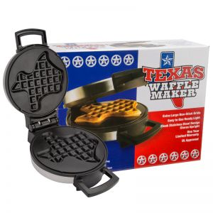 Texas Shaped Waffle Maker, 8-1/4 Inch
