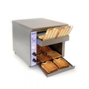 Bread & Bun Conveyor Toaster - 2 1/2″ Clearance, 250 Slices/Hour