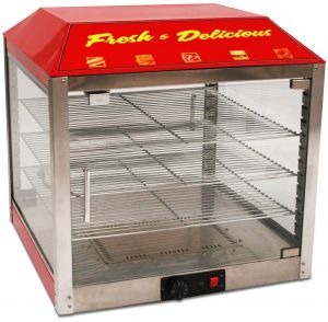 2 Door Warmer/Merchandiser - 18 Inches