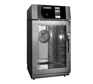 Boilerless Electric Mini Combi with 2 Piece Rack System - 10 Wire Shelves