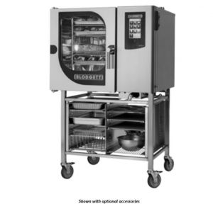 Boilerless Gas Combi with 2 Piece Rack System - 5 Wire Shelves