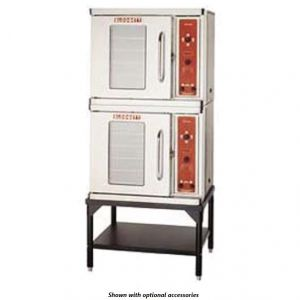 Premium Half Size Electric Double Stack Convection Oven