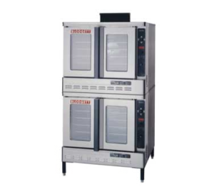 Premium Full Size Gas Double Stack Convection Oven