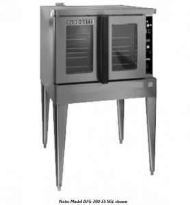 Premium Full Size Bakery Depth Gas Double Stack Convection Oven - Energy Star