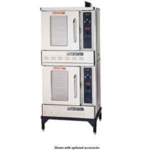Premium Half Size Gas Double Stack Convection Oven