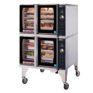 Full Size Electric Hydrovection Double Stack Oven