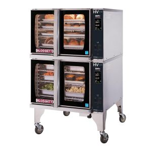 Full Size Gas Hydrovection Double Oven with Helix Technology