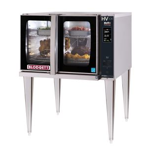Full Size Gas Hydrovection Single Oven with Helix Technology