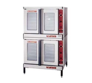 Premium Full Size Standard Depth Electric Double Stack Convection Oven
