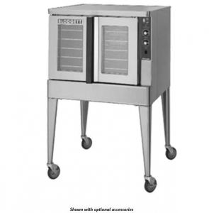 Zephaire Full Size Standard Depth Electric Convection Oven - Energy Star