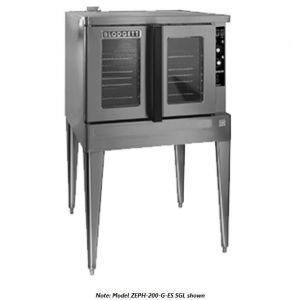 Zephaire Full Size Bakery Depth Gas Double Stack Convection Oven - Energy Star