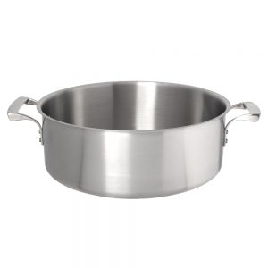 15 Qt. Thermalloy Brazier, Stainless Steel Brazier, Induction Ready