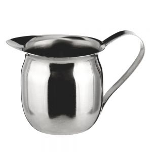 Bell Creamer, 5 Ounce, Stainless Steel