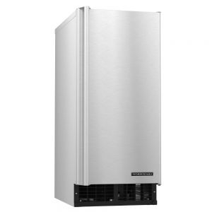 92 Lb Cubelet Ice Maker w/ 22 Lb Ice Storage Bin - Accommodates Custom Cabinetry