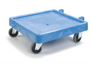 Dishrack Dolly, Plastic with Drain (Warewashing)