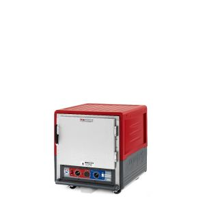 Metro C533-CLFS-L C5 3 Series Insulated Holding/Proofing Cabinet, Undercounter, Full Length Solid Door, Lip Load Aluminum, 120V, 60Hz, 1440W, Red