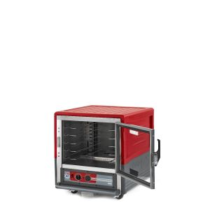 Metro C533-HLFC-U C5 3 Series Insulated Holding Cabinet, Undercounter, Full Length Clear Door, Universal Wire, 120V, 60Hz, 1440W, Red