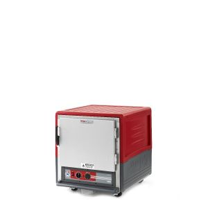 Metro C533-HLFS-L C5 3 Series Insulated Holding Cabinet, Undercounter, Full Length Solid Door, Lip Load Aluminum, 120V, 60Hz, 1440W, Red