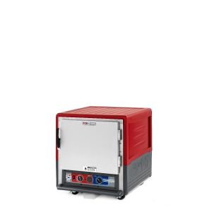 Metro C533-MFS-U C5 3 Series Insulated Moisture Heated Holding/Proofing Cabinet, Undercounter, Full Length Solid Door, Universal Wire, 120V, 60Hz, 2000W, Red