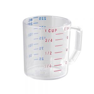 Camwear 1 Cup Clear Measuring Cup