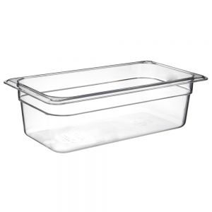 Camwear Third Size Food Pan, 6-15/16 x 12-3/4 x 4