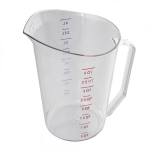 Camwear 4 Quart Clear Measuring Cup