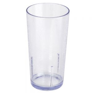 24 Ounce Clear Plastic Del Mar Tumbler