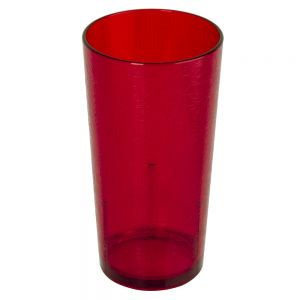 24 Ounce Ruby Red Plastic Del Mar Tumbler
