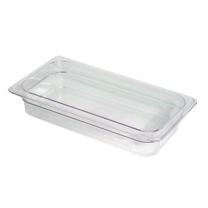 Camwear Third Size Food Pan, 6-15/16 x 12-3/4 x 2-1/2