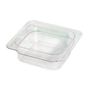 Camwear Sixth Size Food Pan, 6-3/8 x 6-15/16 x 2-1/2