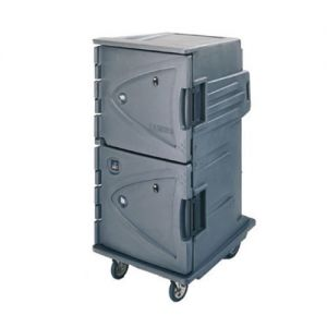 Camtherm Hot Cart, Electric, Tall Profile, Double Door, With Vent