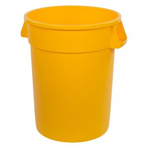 Carlisle 34103204 Bronco™ 32 Gallon Waste Container - Yellow
