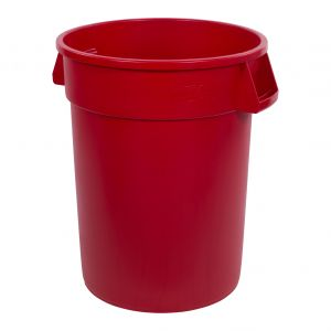 Bronco™ 32 Gallon Waste Container - Red