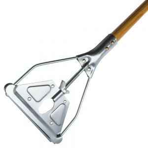 Wood Mop Handle 60 Inch with Wing Nut